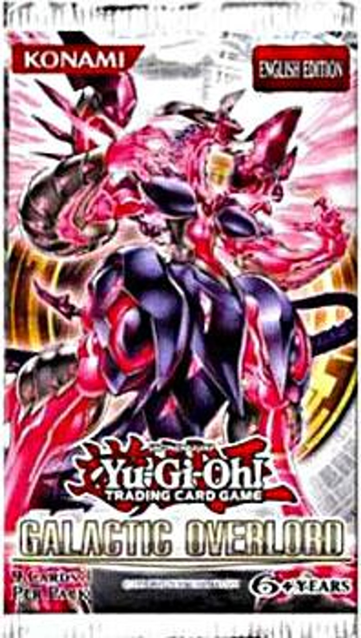 YuGiOh Galactic Overlord Booster Pack