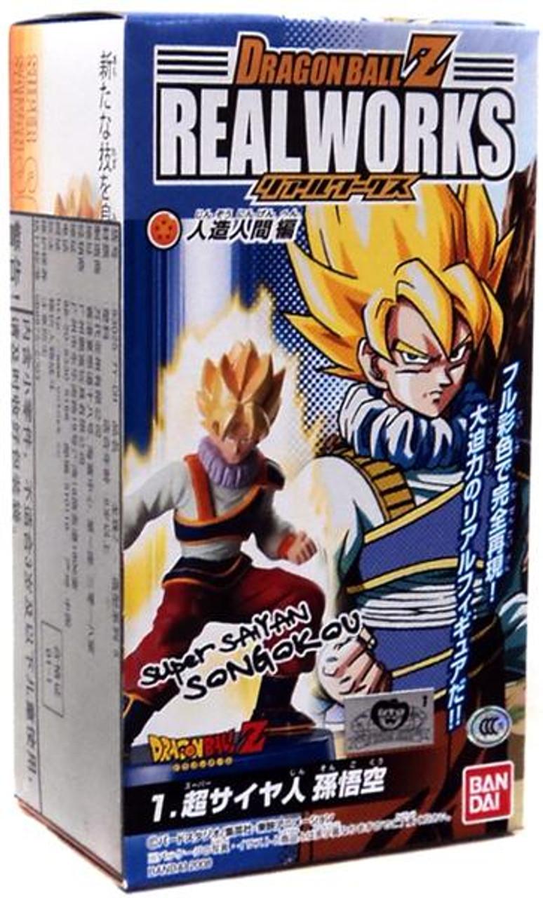 Dragon Ball Z Real Works Collection 5 Super Saiyan Son Goku 4.5-Inch PVC Figure