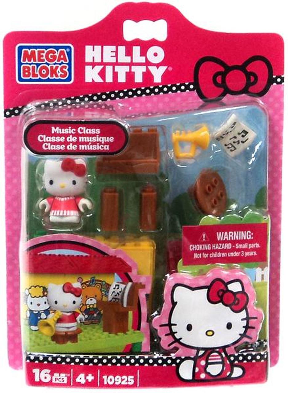 Mega Bloks Hello Kitty Blister Packs Music Class Set #10925