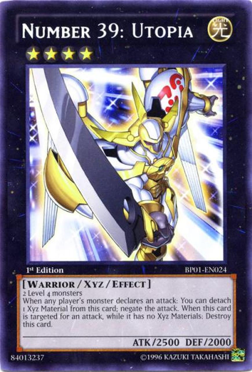 YuGiOh Battle Pack: Epic Dawn Rare Number 39: Utopia BP01-EN024