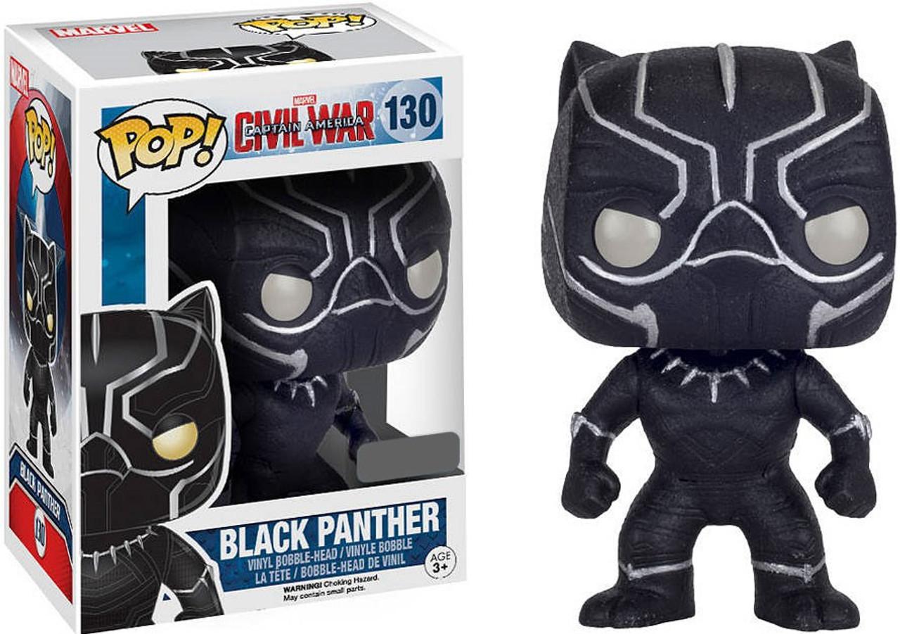 Funko Marvel Civil War Funko Pop Marvel Black Panther