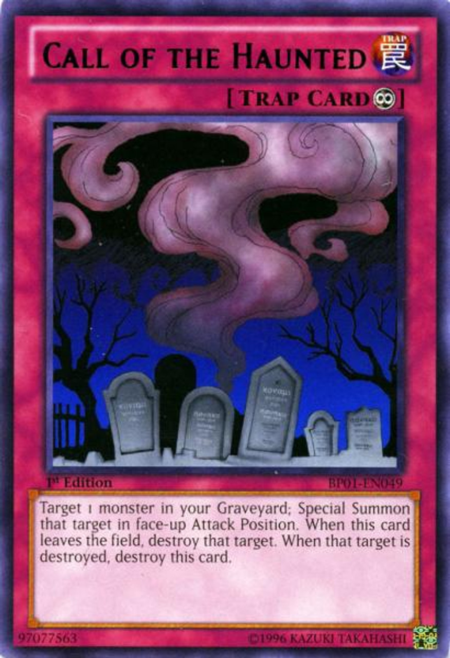 YuGiOh Battle Pack: Epic Dawn Rare Call of the Haunted BP01-EN049