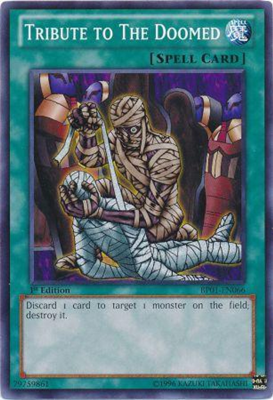 YuGiOh Battle Pack: Epic Dawn Common Tribute to the Doomed BP01-EN066