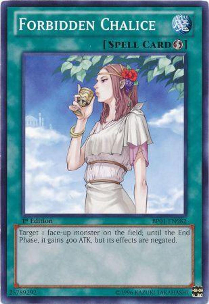 YuGiOh Battle Pack: Epic Dawn Common Forbidden Chalice BP01-EN082