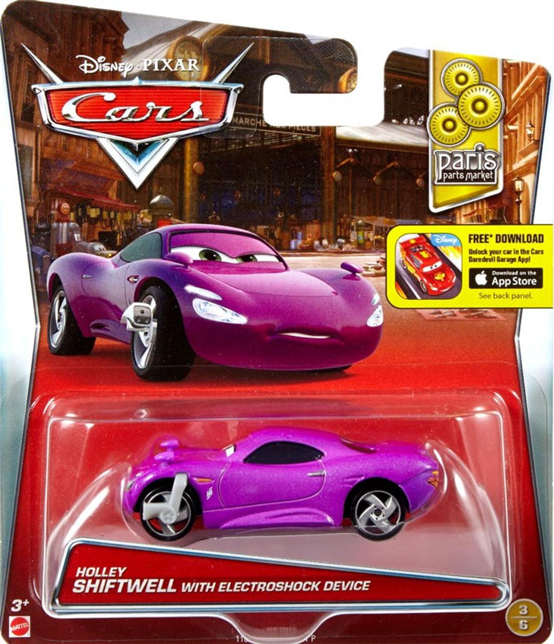 Disney Pixar Cars Paris Parts Market Holley Shiftwell With