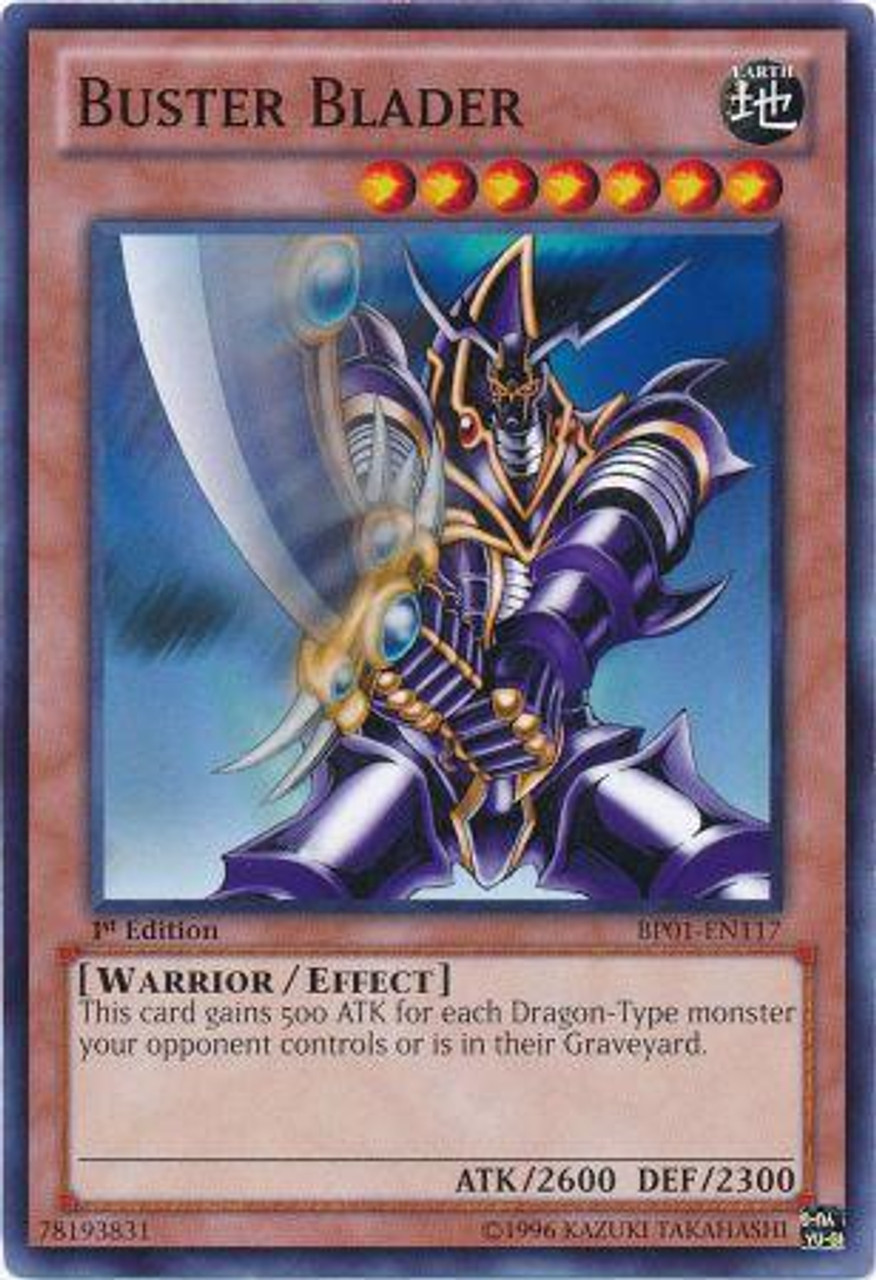 YuGiOh Battle Pack: Epic Dawn Common Buster Blader BP01-EN117
