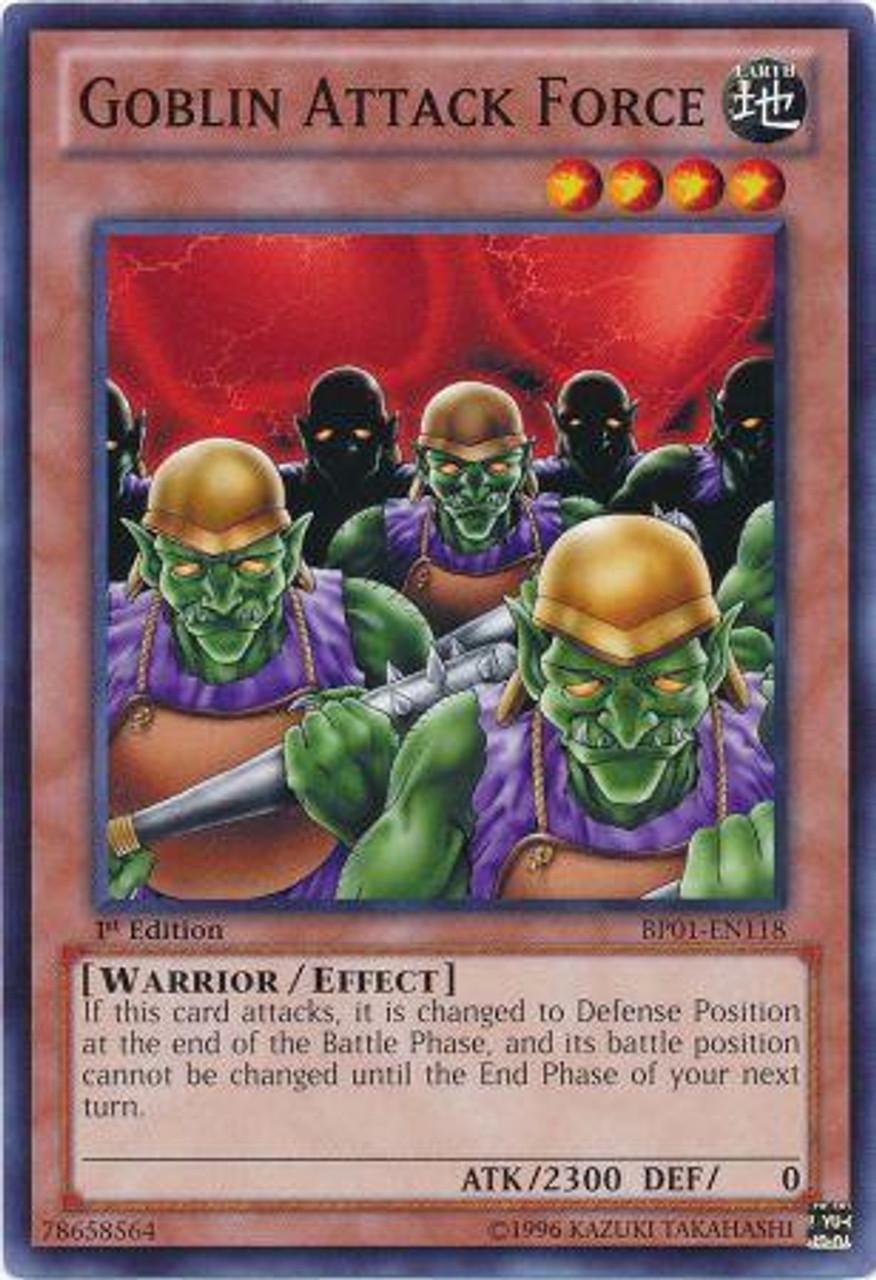 YuGiOh Battle Pack: Epic Dawn Common Goblin Attack Force BP01-EN118