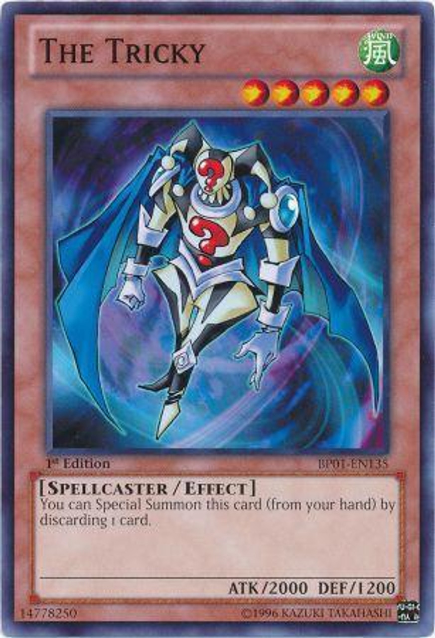 YuGiOh Battle Pack: Epic Dawn Common The Tricky BP01-EN135