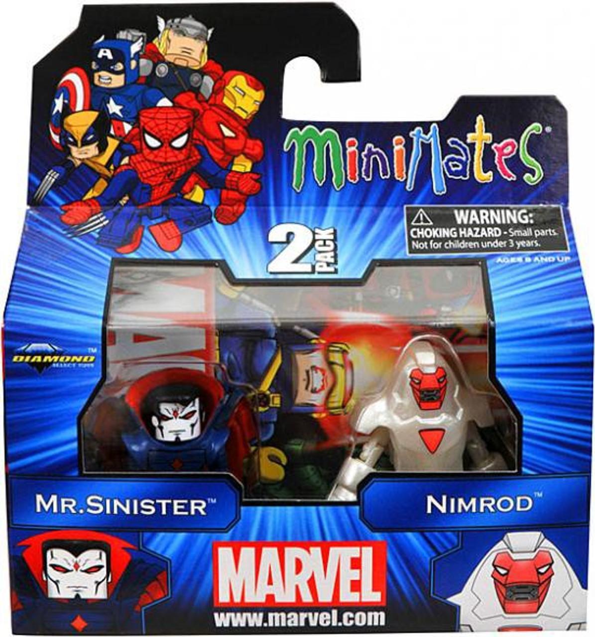 Marvel Minimates Series 41 Mr. Sinister & Nimrod Minifigure 2-Pack