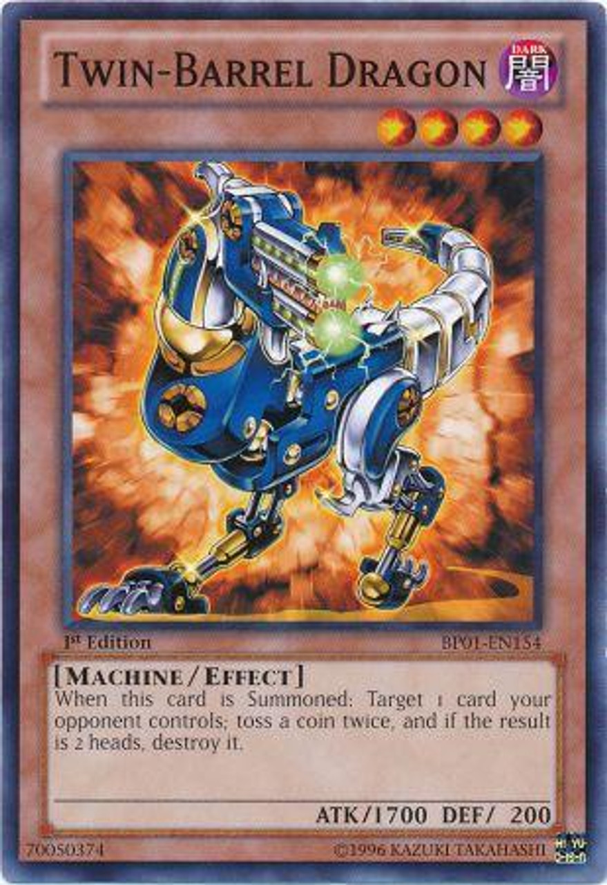 YuGiOh Battle Pack: Epic Dawn Common Twin-Barrel Dragon BP01-EN154