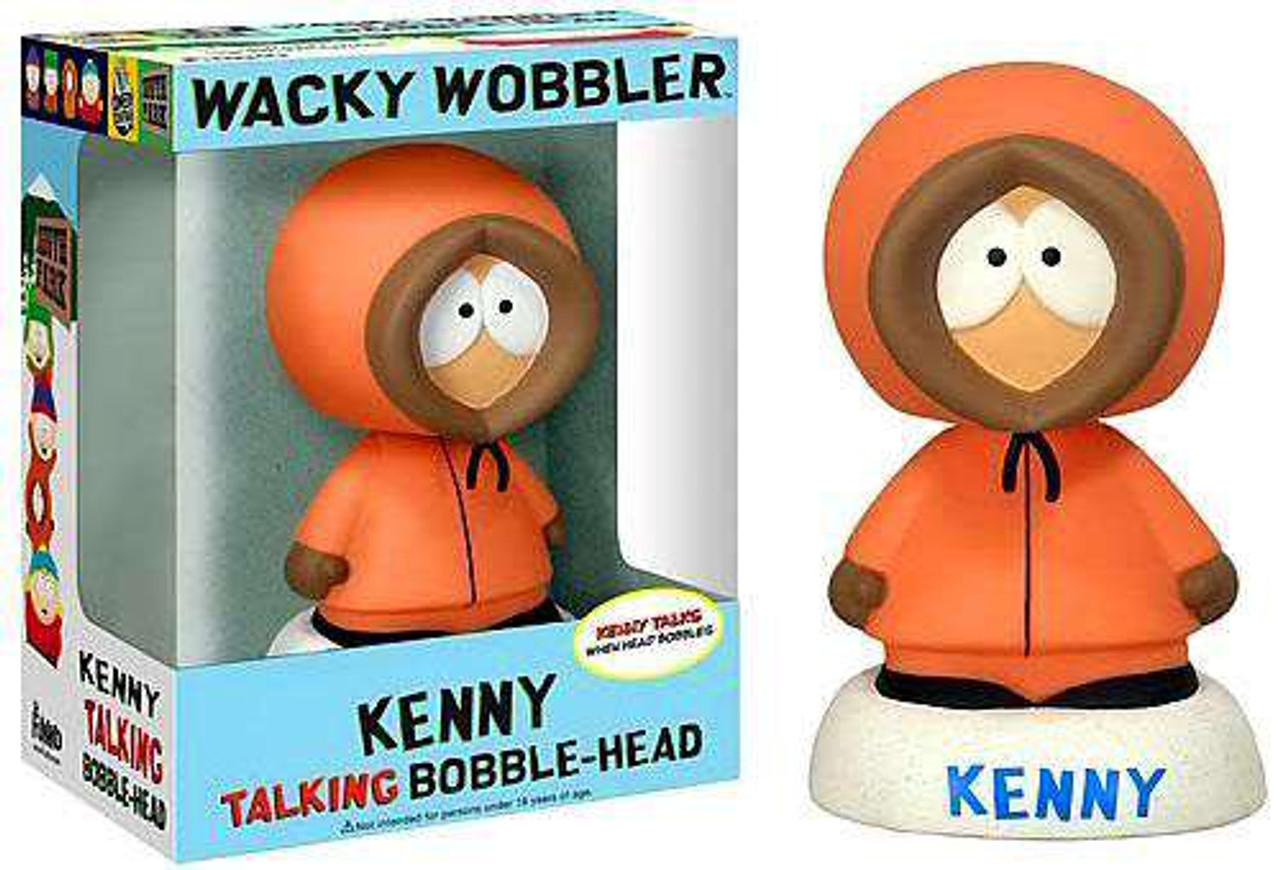Funko South Park Wacky Wobbler Kenny Talking Bobble Head