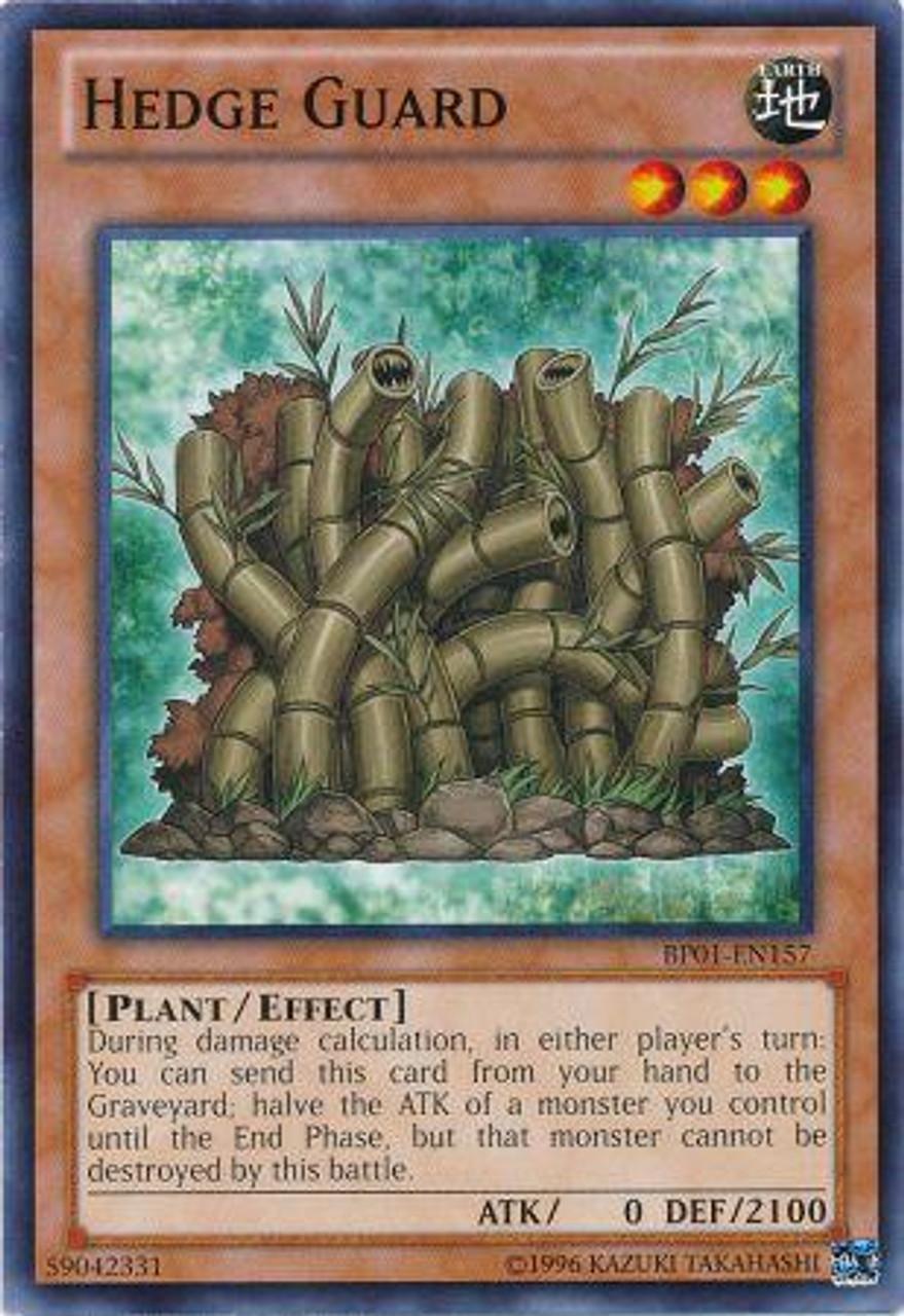 YuGiOh Battle Pack: Epic Dawn Common Hedge Guard BP01-EN157