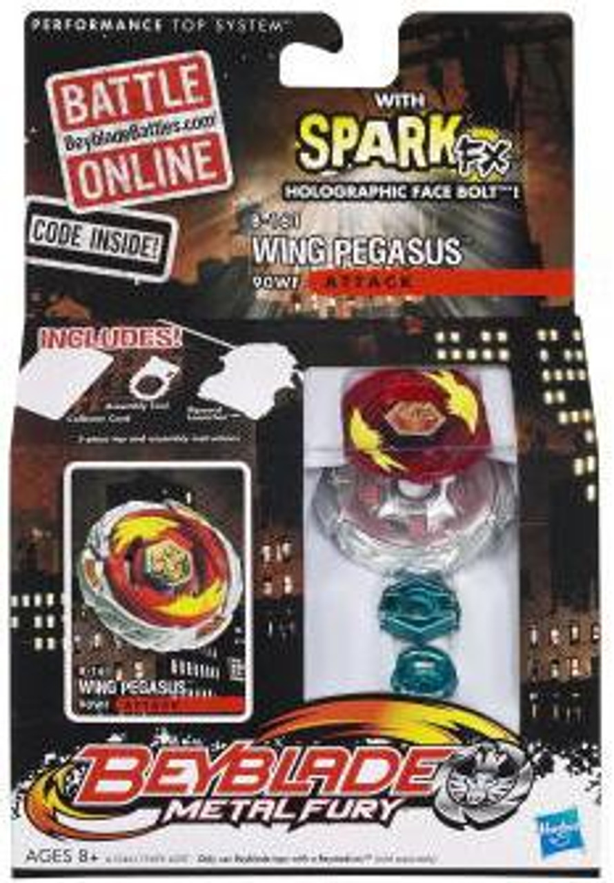 Beyblade Metal Fury Spark FX Wing Pegasus Single Pack B-161