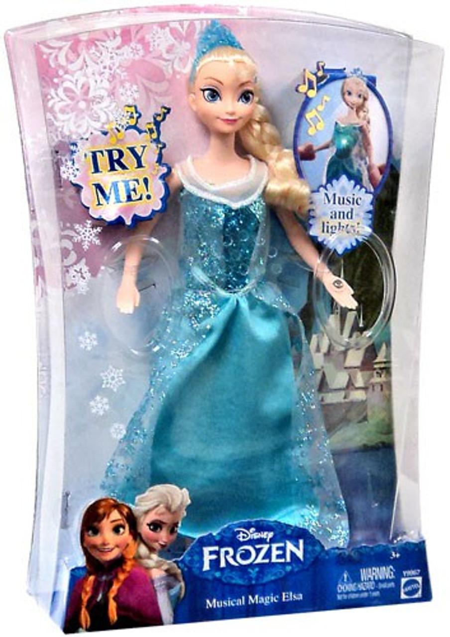 Disney Frozen Musical Magic Elsa 10-Inch Doll