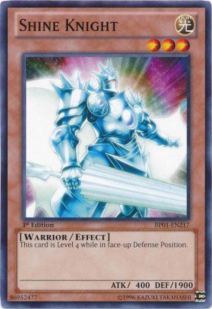 YuGiOh Battle Pack: Epic Dawn Common Shine Knight BP01-EN217