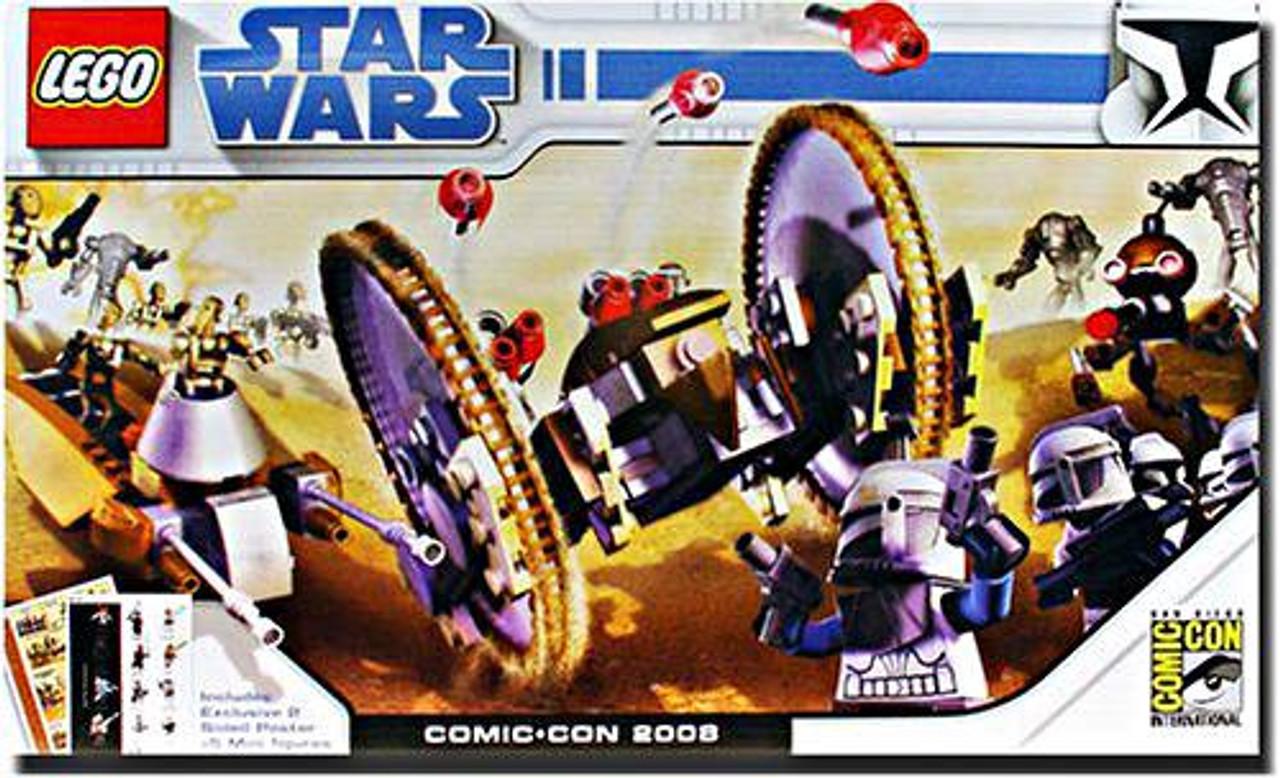 LEGO Star Wars The Clone Wars 2008 SDCC San Diego Comic-Con Clone Wars Exclusive Set #7670