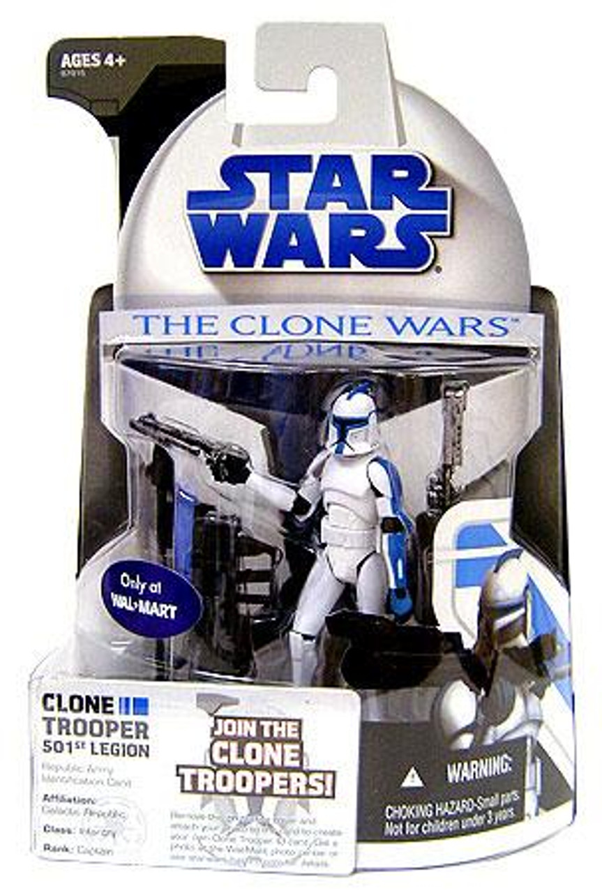 Star Wars Revenge of the Sith Clone Wars 2008 501st Legion Clone Trooper Exclusive Action Figure