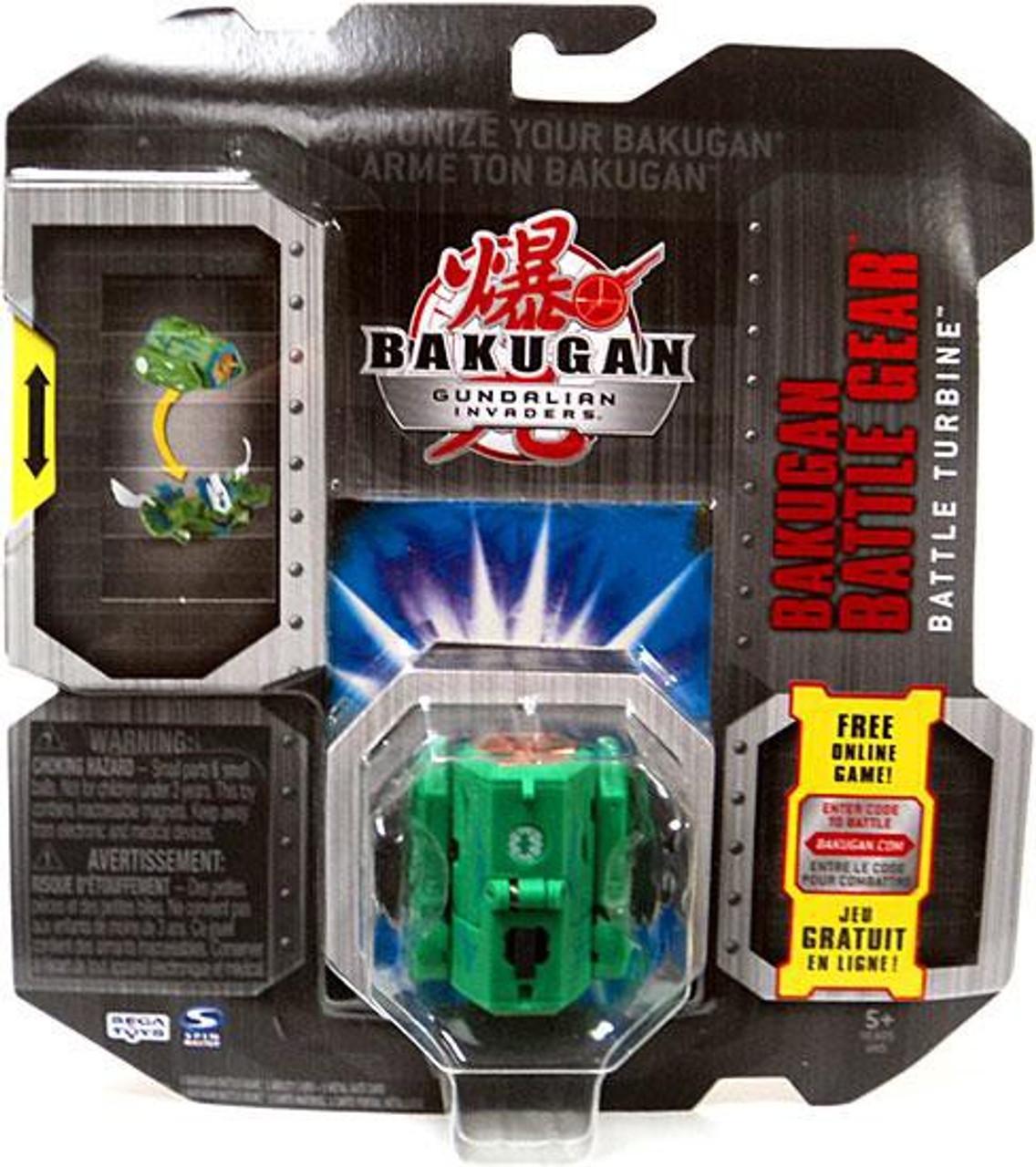 Gundalian Invaders Bakugan Battle Gear Zephyroz Battle Turbine [Green]