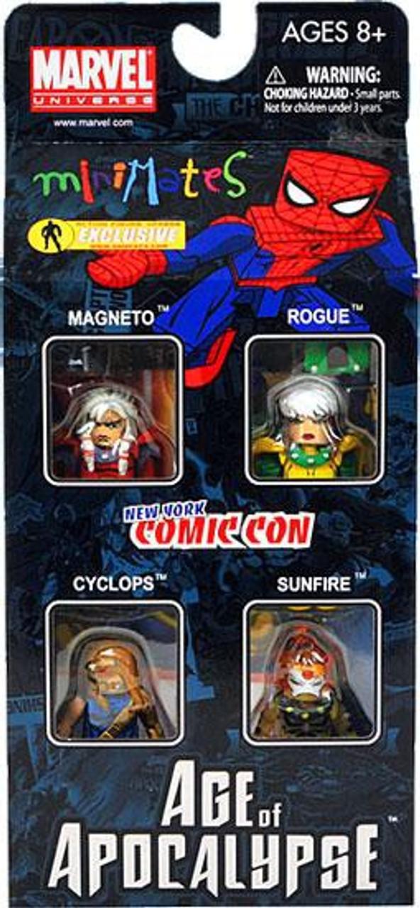 Marvel MiniMates Age of Apocalypse Set #1 Exclusive Minifigure 4-Pack