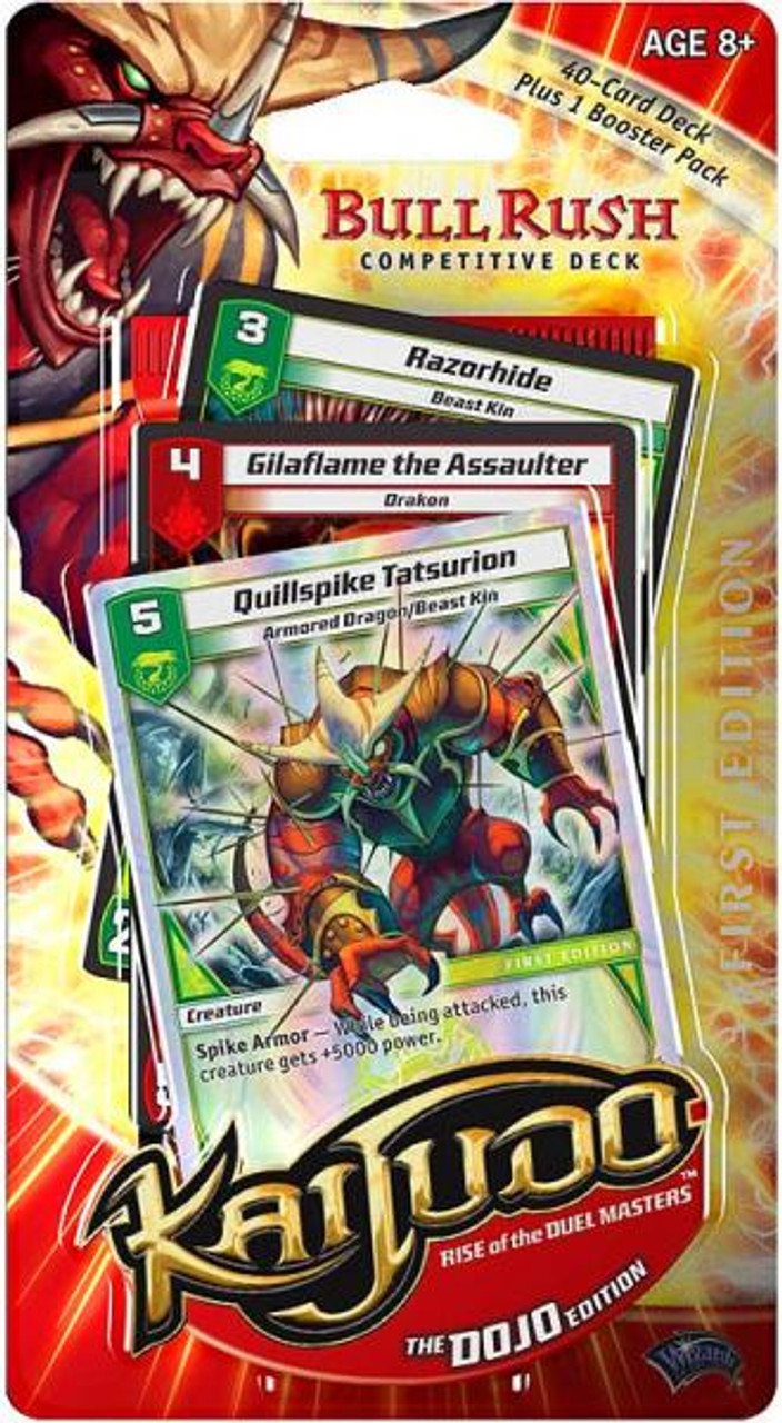 Kaijudo Rise of the Duel Masters Dojo Bull Rush Competitive Deck