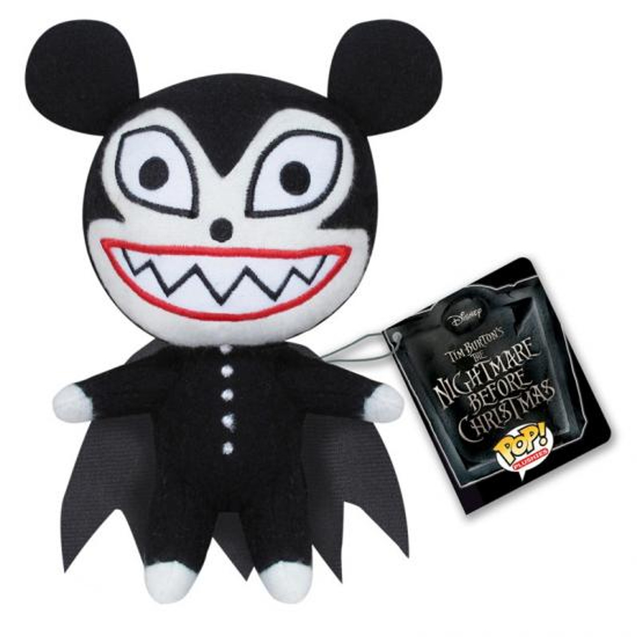 Funko The Nightmare Before Christmas Vampire Teddy 5-Inch Plushie