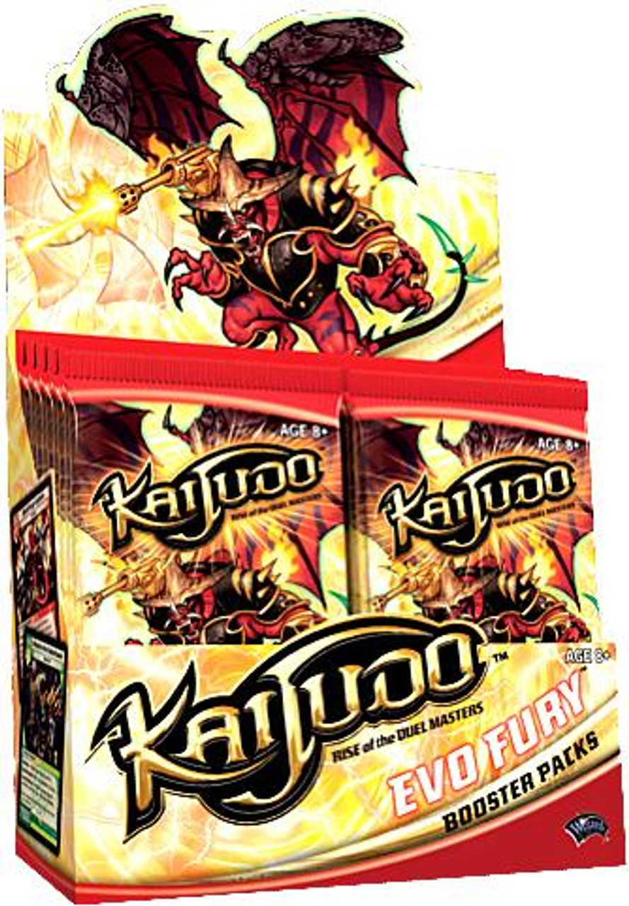 Kaijudo Rise of the Duel Masters Evo Fury Booster Box [24 Packs]