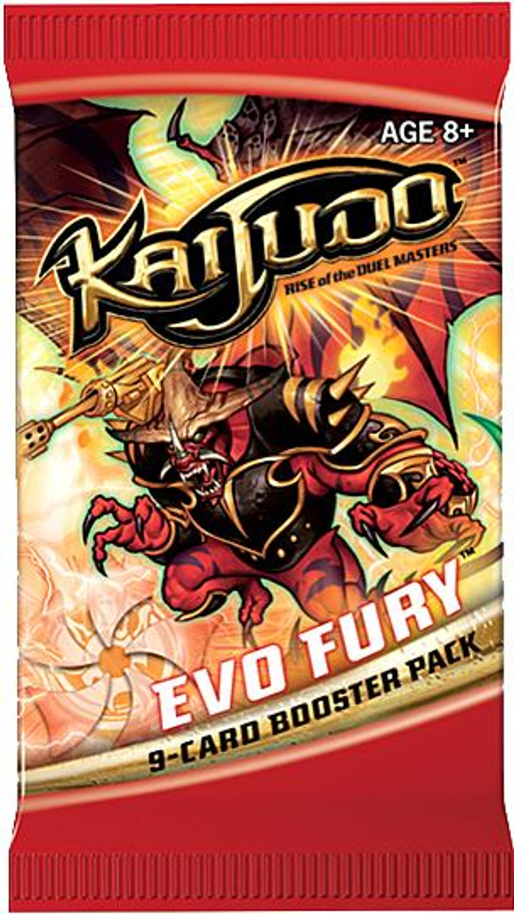 Kaijudo Rise of the Duel Masters Evo Fury Booster Pack
