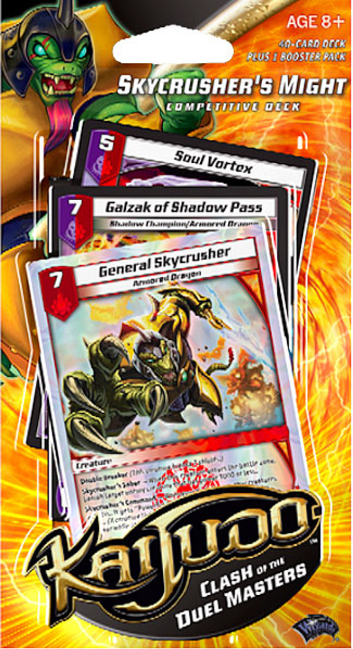 Kaijudo Clash of the Duel Masters Skycrusher's Might Competitive Deck