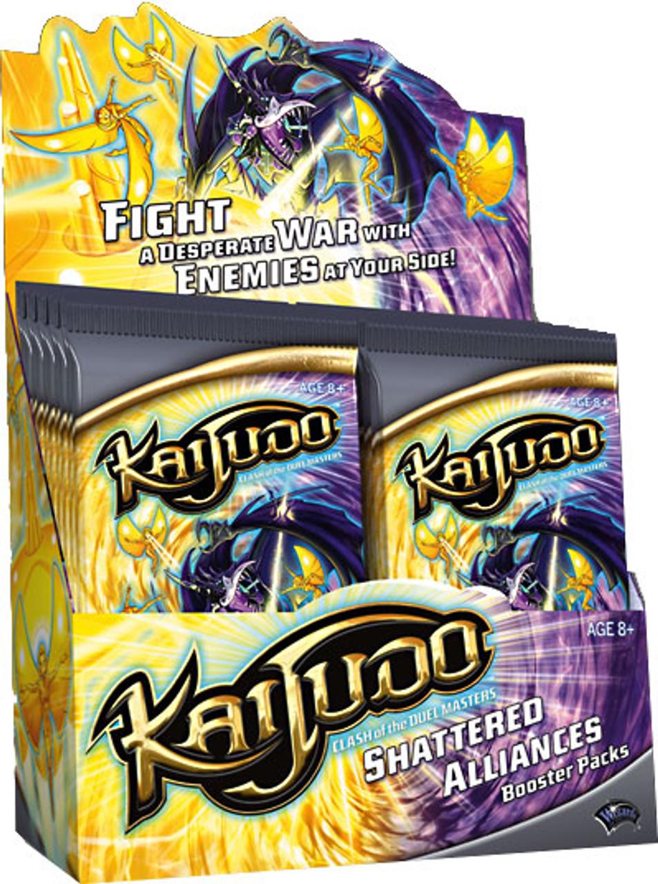 Kaijudo Shattered Alliances Booster Box [24 Packs]