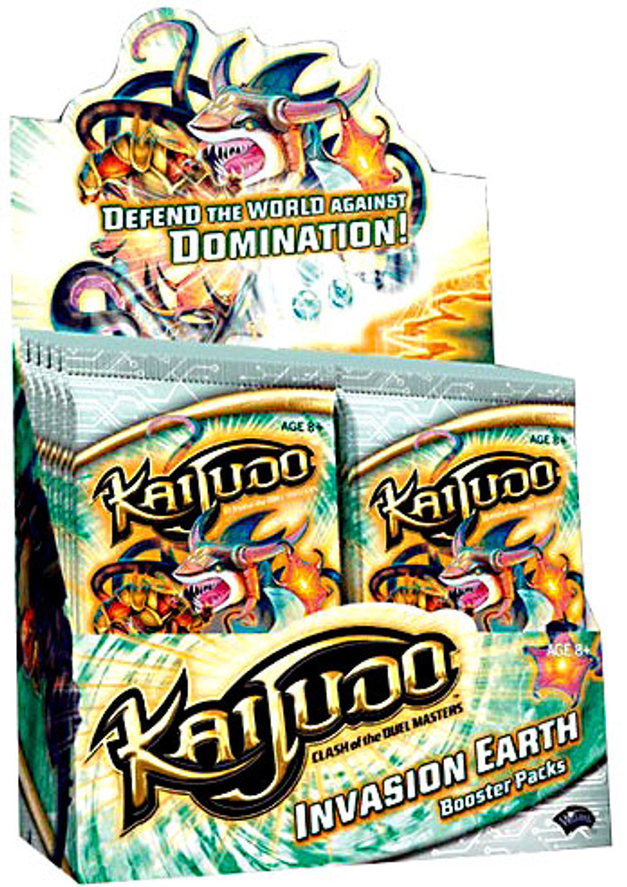 Kaijudo Clash of the Duel Masters Invasion Earth Booster Box [24 Packs]