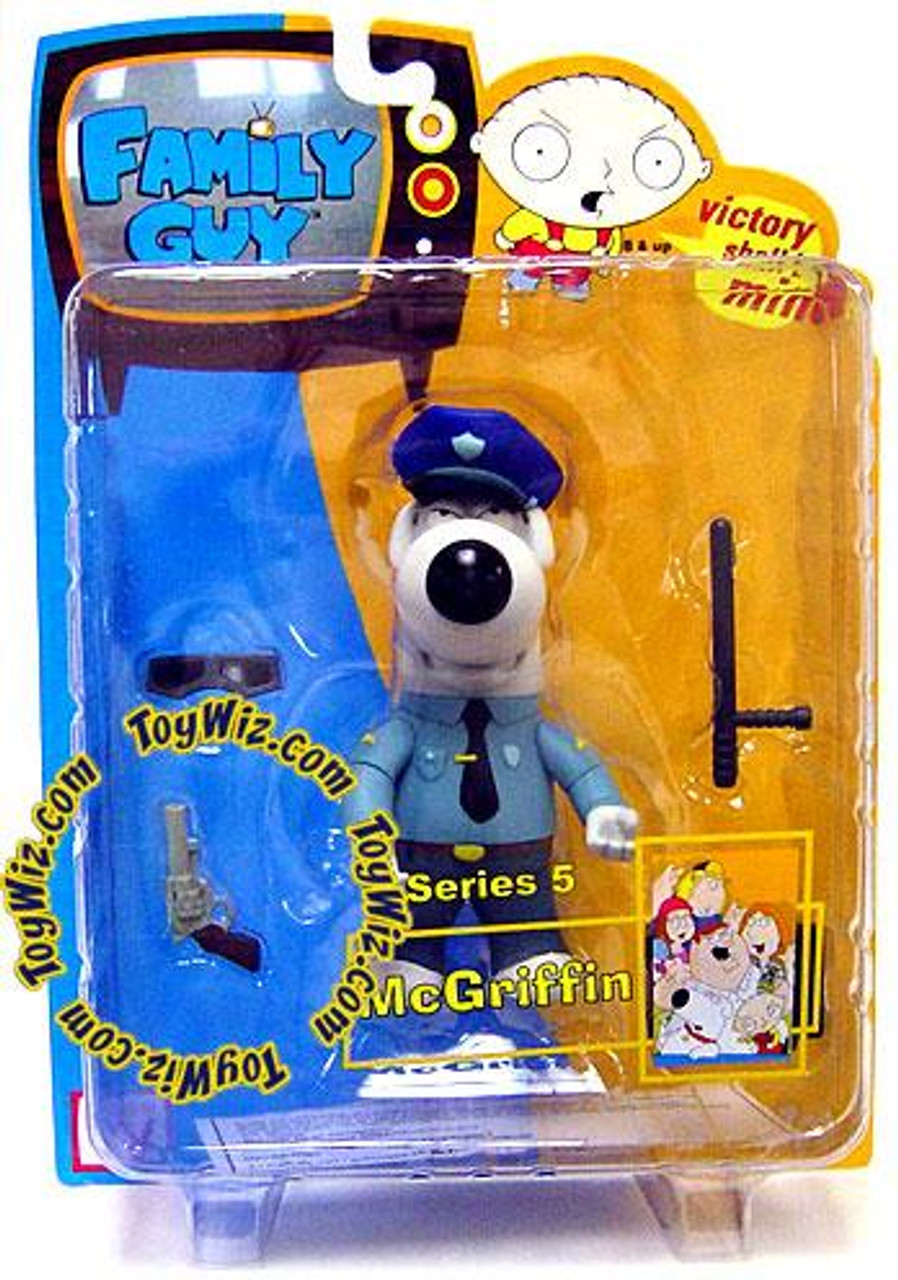 Family Guy Series 5 Brian Action Figure [McGriffin]