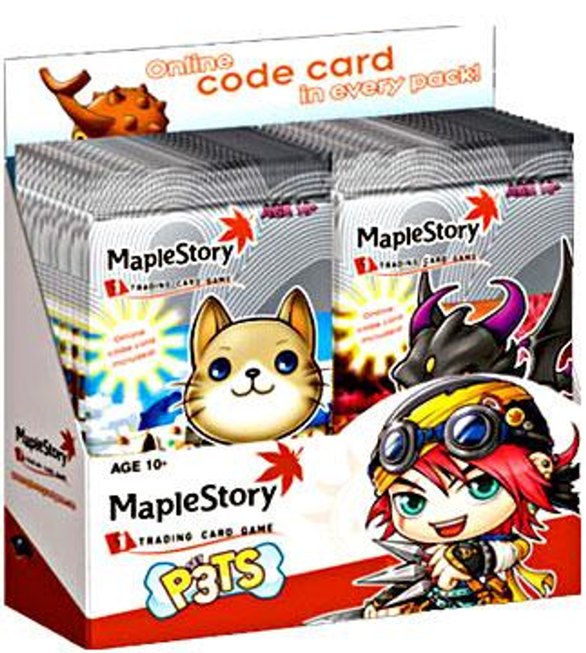 Maple Story Trading Card Game P3ts (Pets) Booster Box [24 Packs]