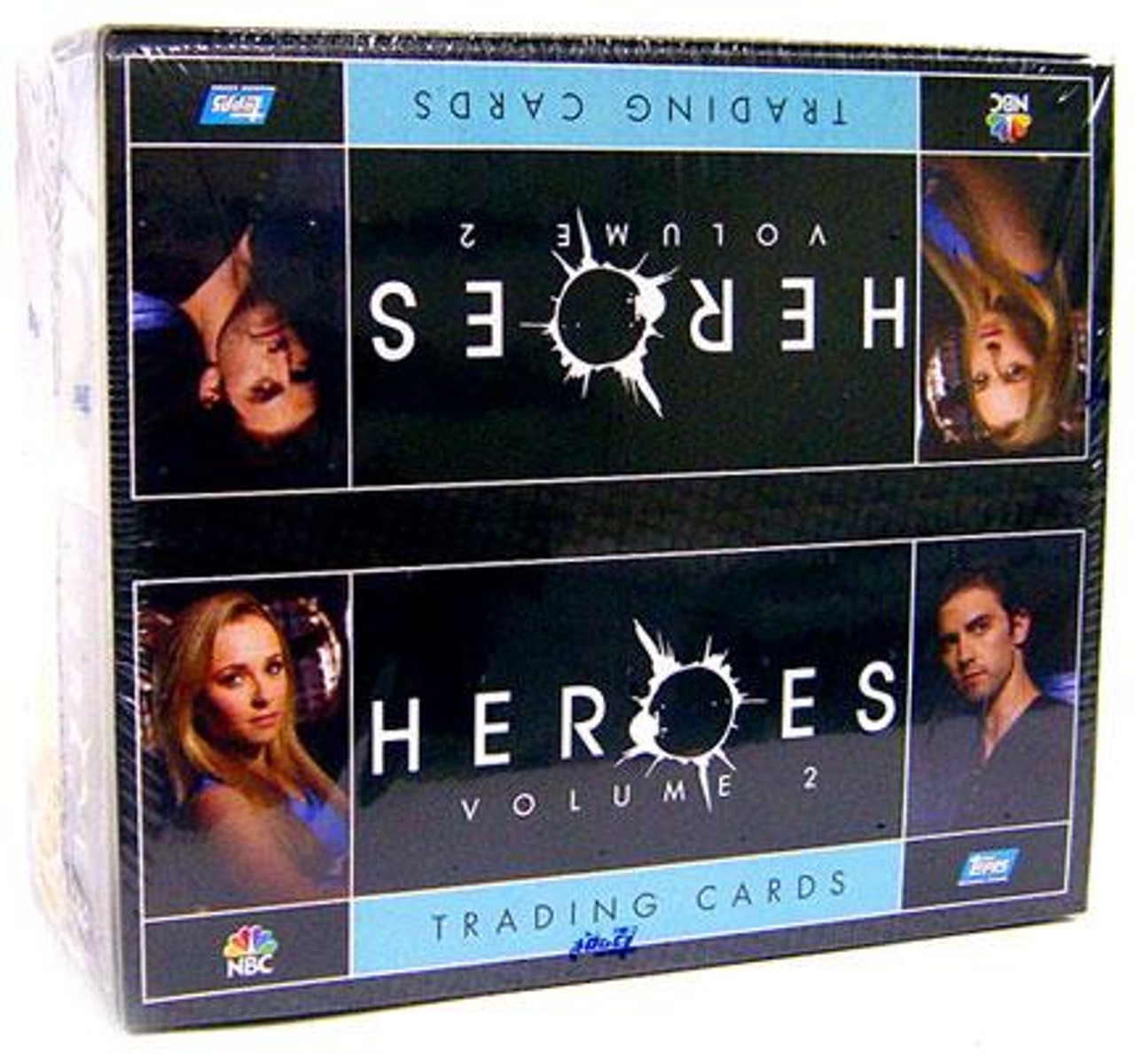 Heroes Series 2 Trading Card Box [Hobby Edition] [Factory Sealed]