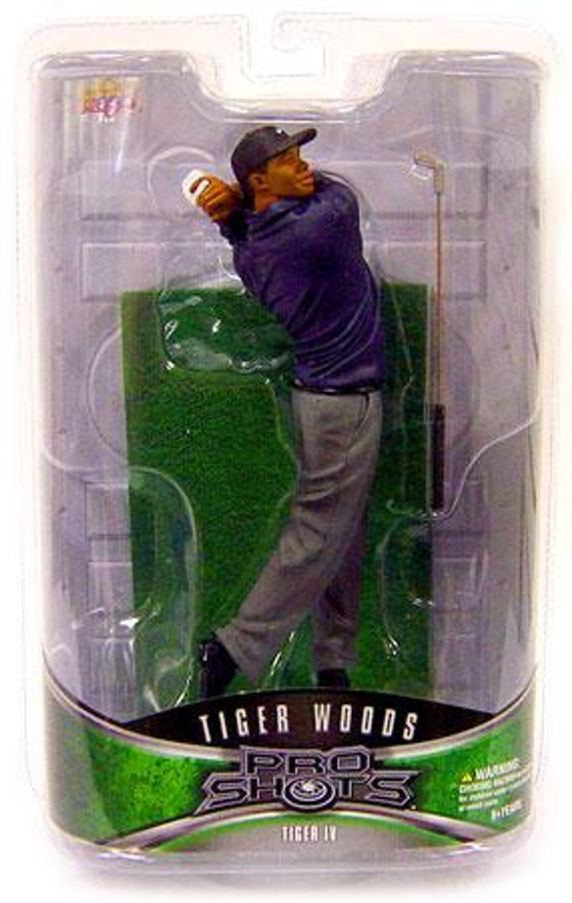 PGA Pro Shots Series 2 Tiger Woods Action Figure #4 [Iron Shot Finish]