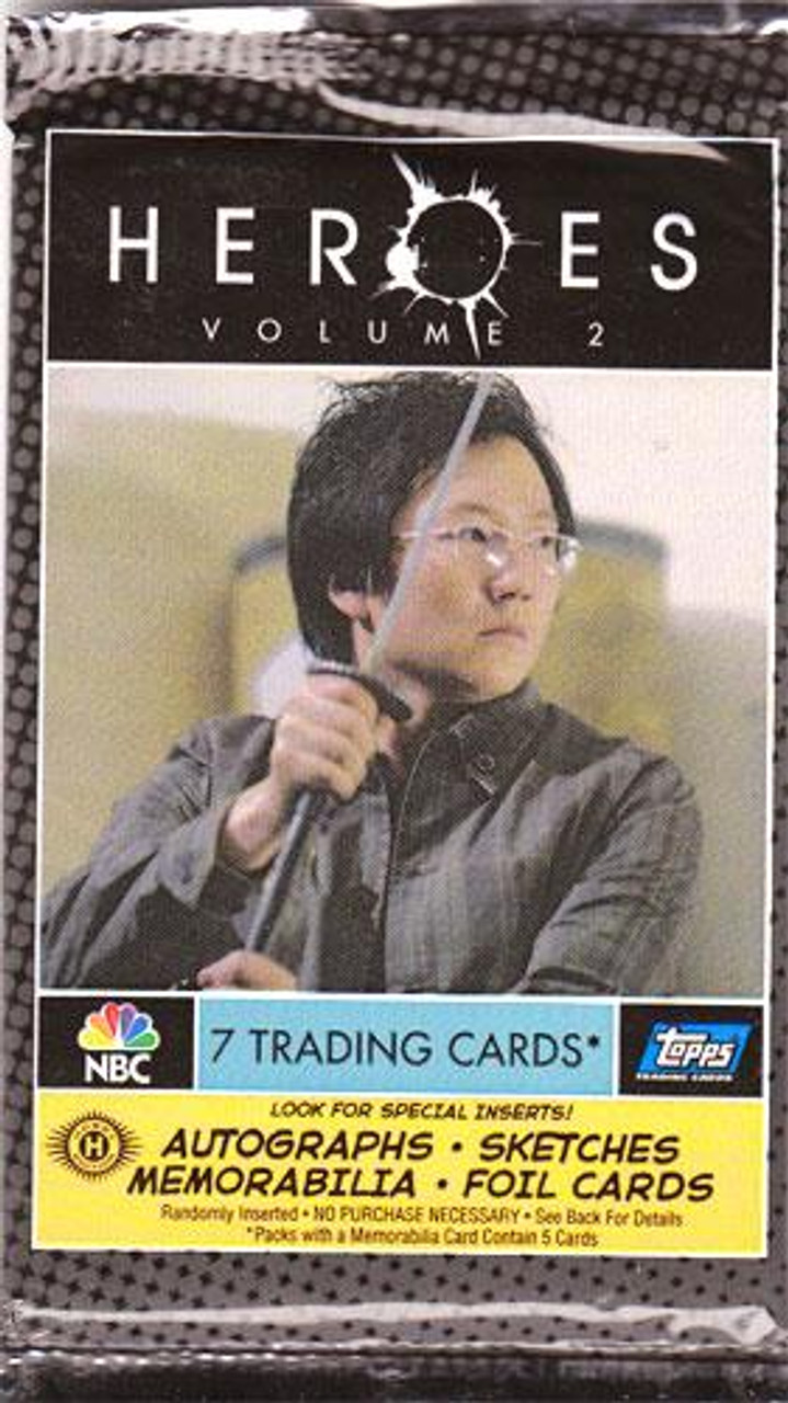 Heroes Series 2 Trading Card Pack [Hobby Edition]