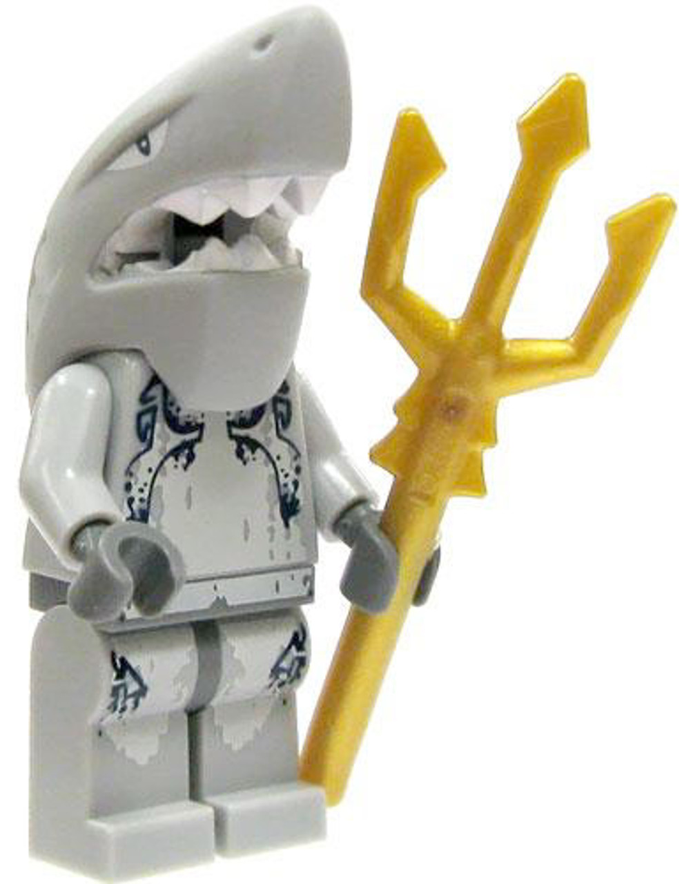 LEGO Atlantis Loose Shark Warrior Minifigure [Loose]