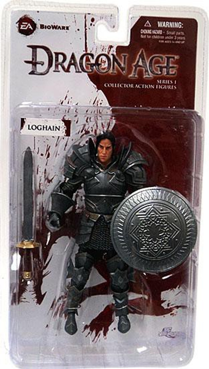 Dragon Age Origins Series 1 Loghain Action Figure