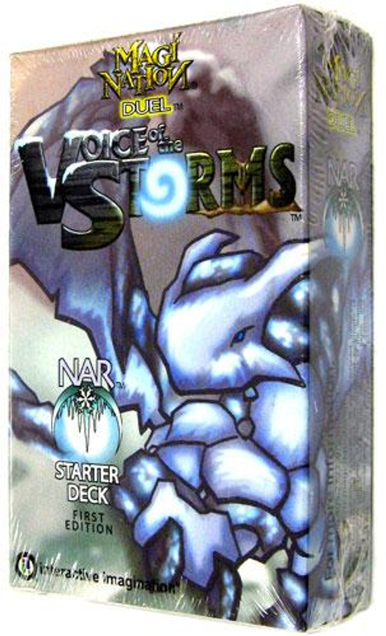Magi Nation Duel Voice of the Storms Nar Starter Deck