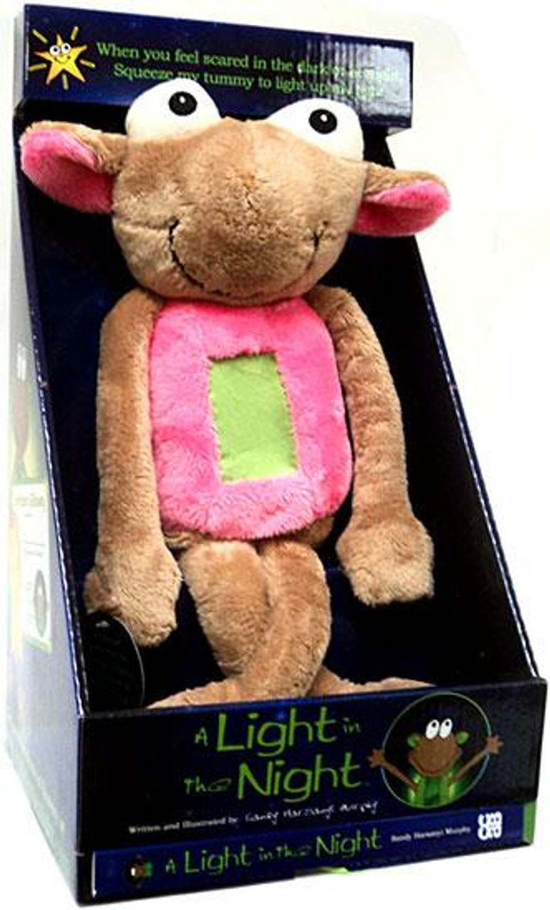A Light in the Night Bubble Gum Pink Plush [Loose (No Package)]