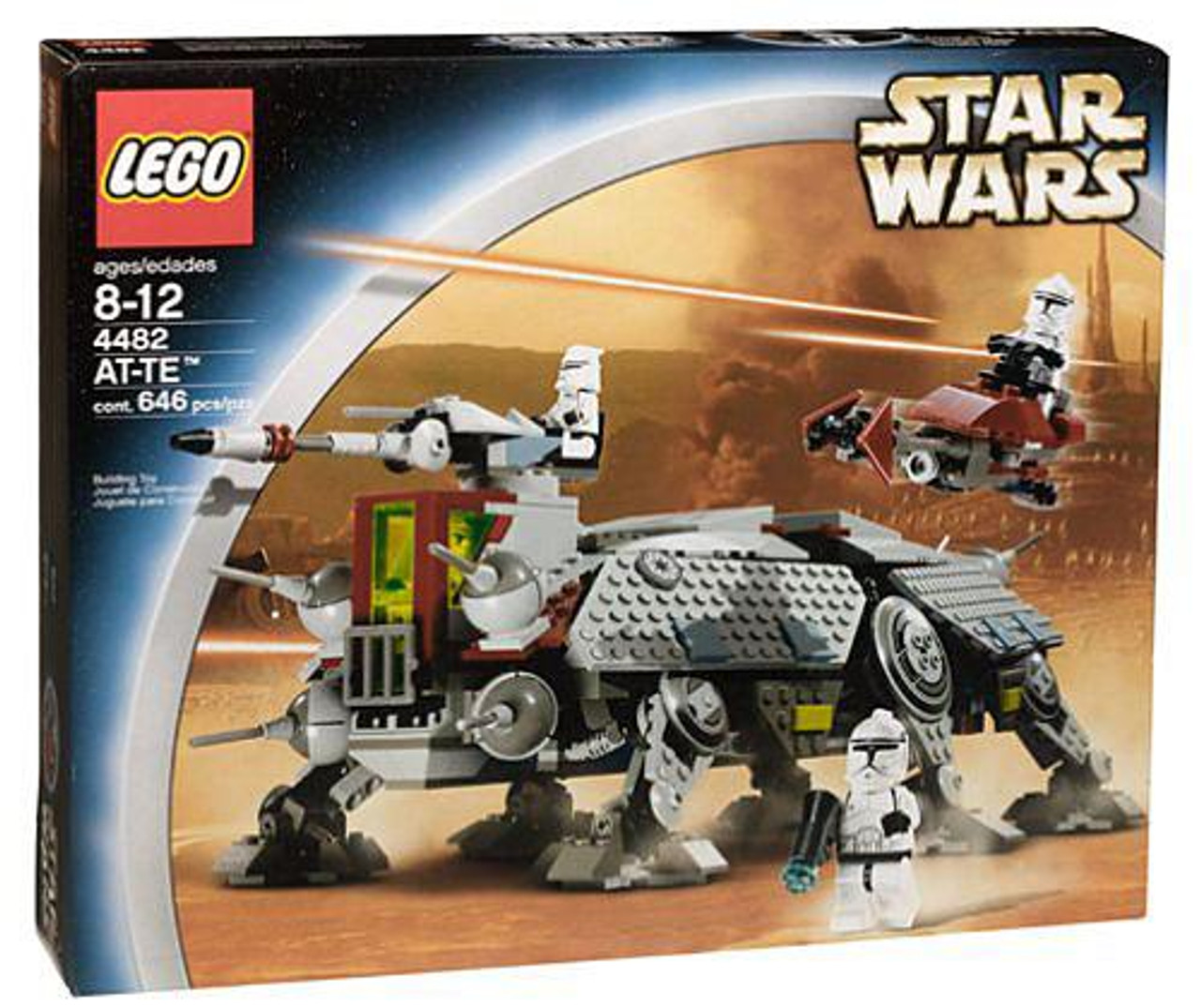LEGO Star Wars AT-TE Set #4482