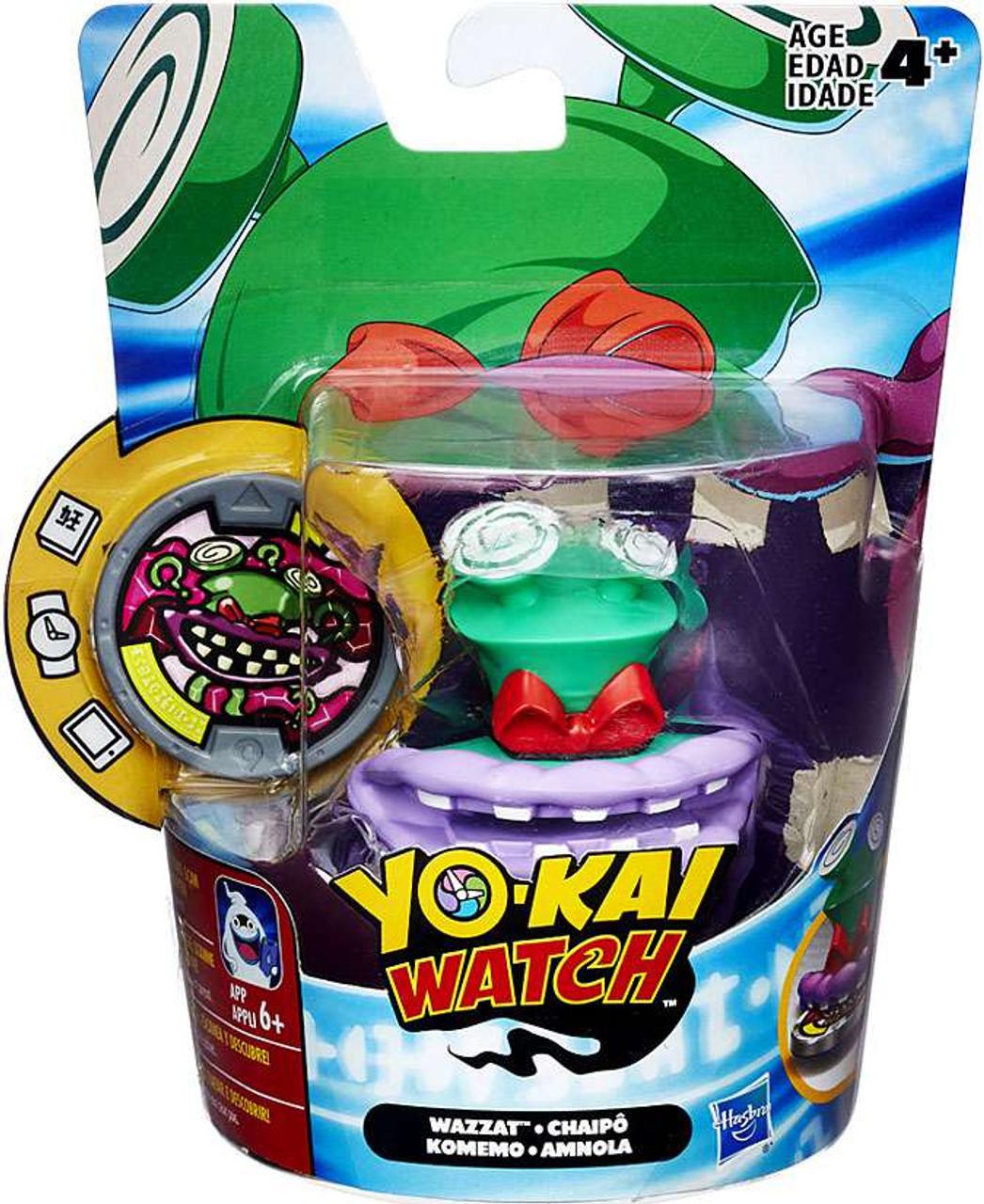 yo kai watch medal moments wazzat mini figure hasbro toys toywiz. Black Bedroom Furniture Sets. Home Design Ideas