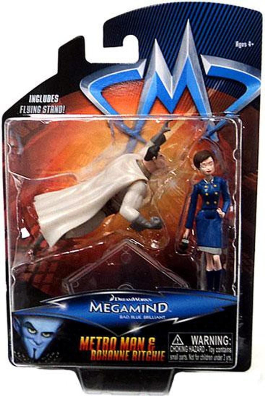 Megamind Metroman & Roxanne Ritchie Mini Figure 2-Pack