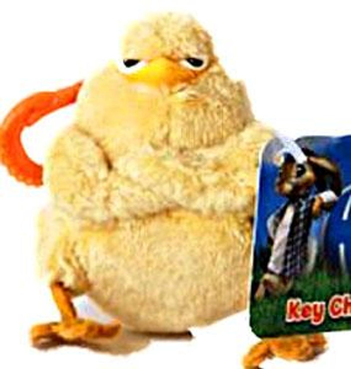 Hop Chick Plush Keychain
