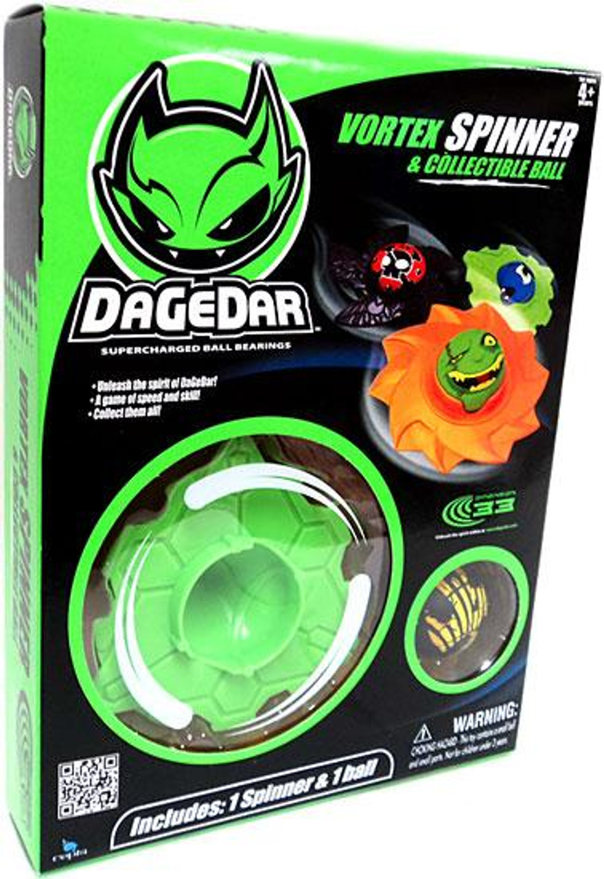 DaGeDar Vortex Spinner & Collectible Ball Set [Green]