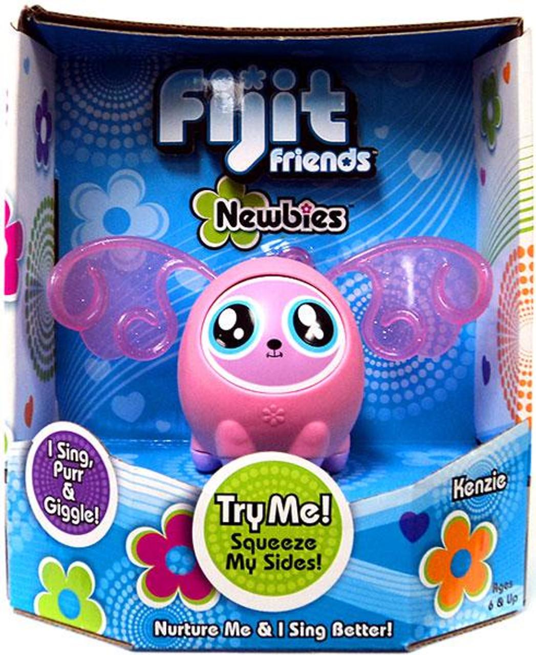 Fijit Friends Kenzie Interactive Toy [Light Pink]