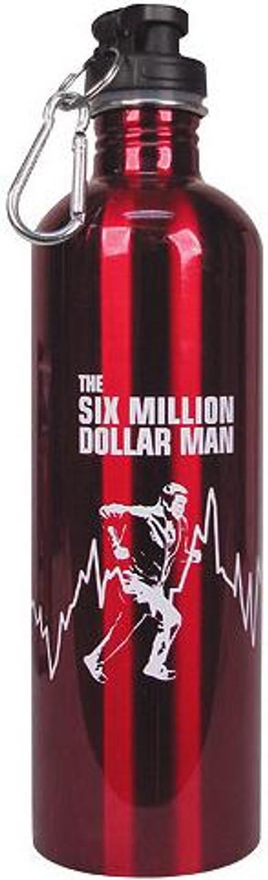 The Six Million Dollar Man Water Bottle