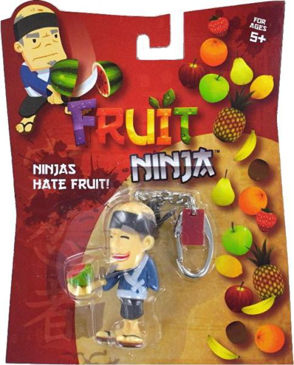 Sensei keychain basic fun fruit ninja keychain keychain fruit ninja in