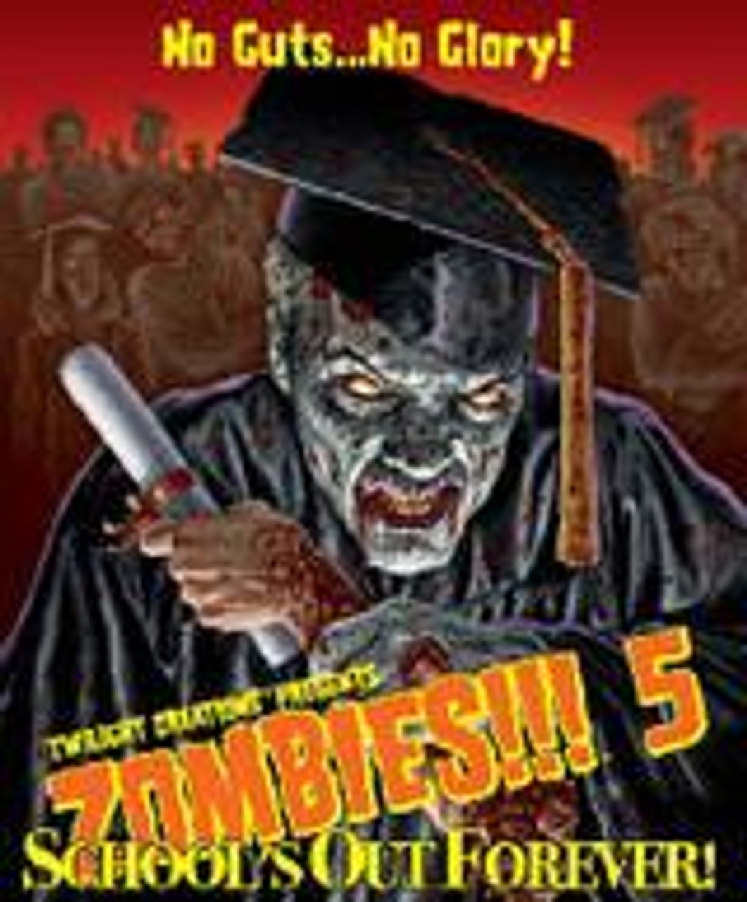 Zombies!!! 5 School's Out Forever Board Game Expansion