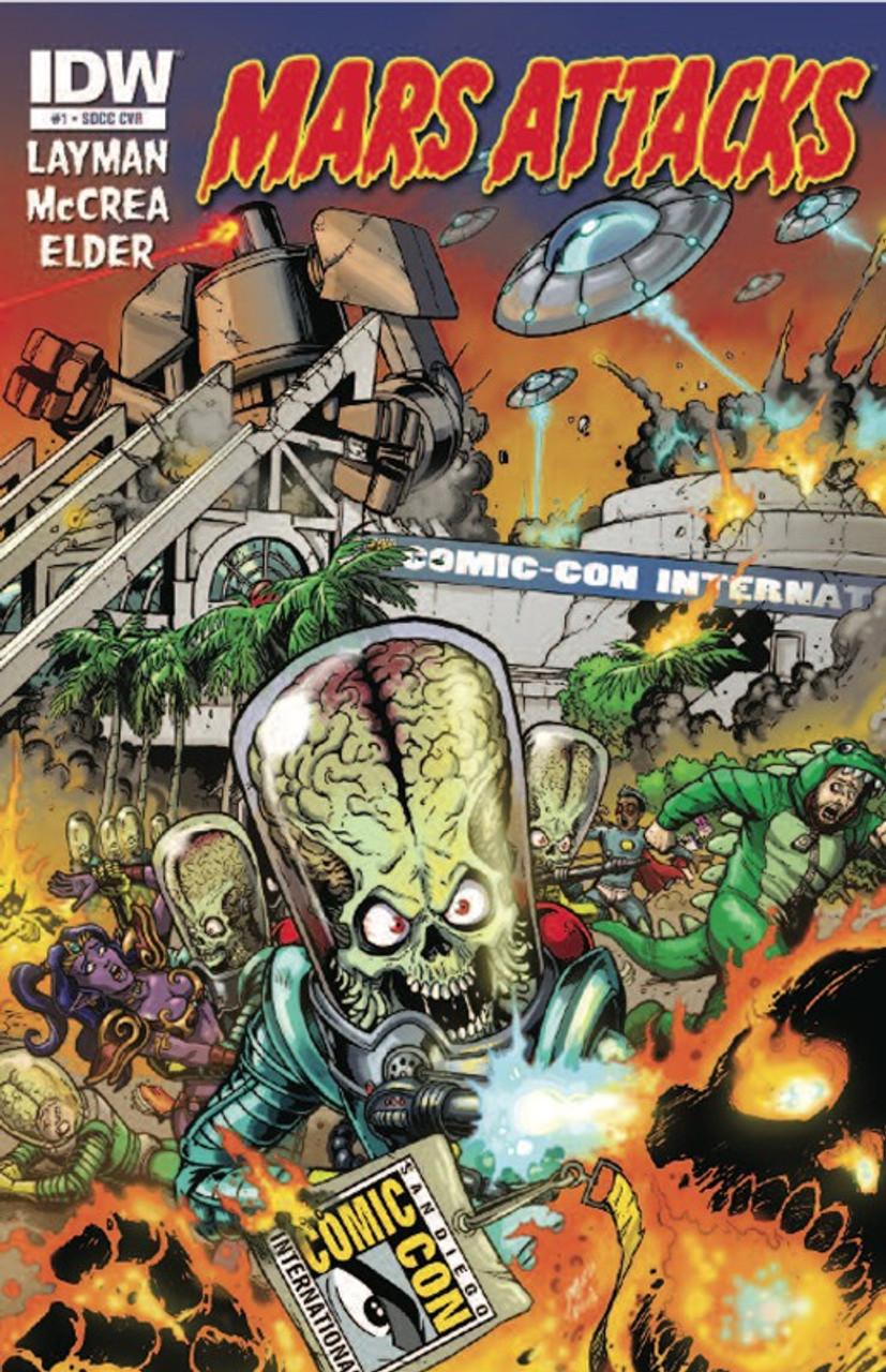 Mars Attacks Exclusive Comic Book #1 [SDCC Exclusive]