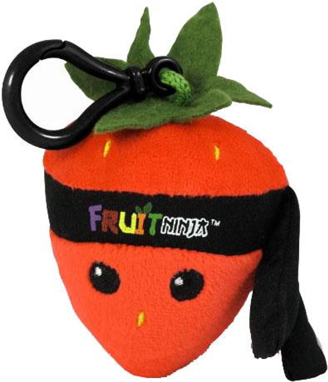 Fruit Ninja Strawberry Plush Clip On